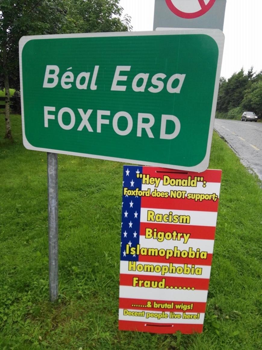 foxford-sign