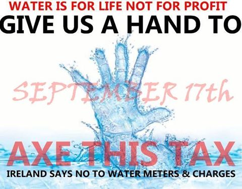 March in Dublin for #Right2Water & other causes on Saturday September17