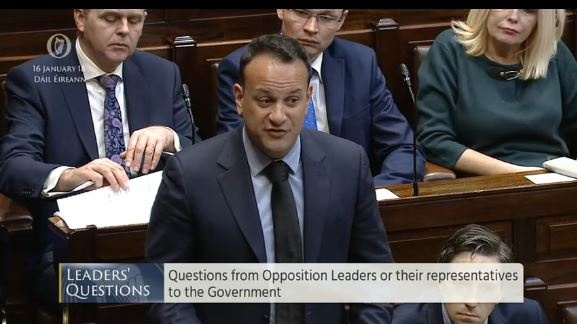 Notes from Dáil Leaders' Questions – Wed Feb 21, 2018